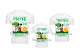 Camisetas Personalizadas do Mickey Safari