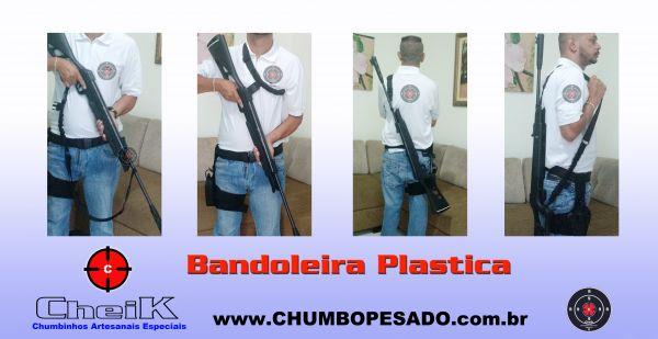 Bandoleira 3 pontas Plastica