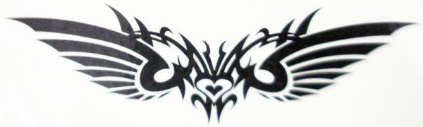 Kit com 10 Tatuagens Coração
