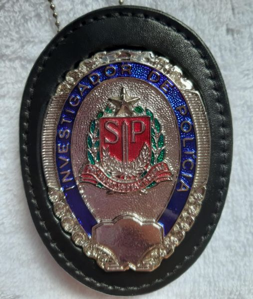 DISTINTIVO INVESTIGADOR DE POLICIA CIVIL SP