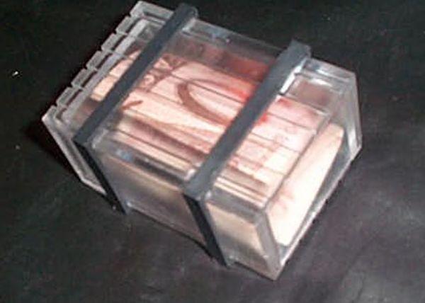 Bauzinho transparente #630