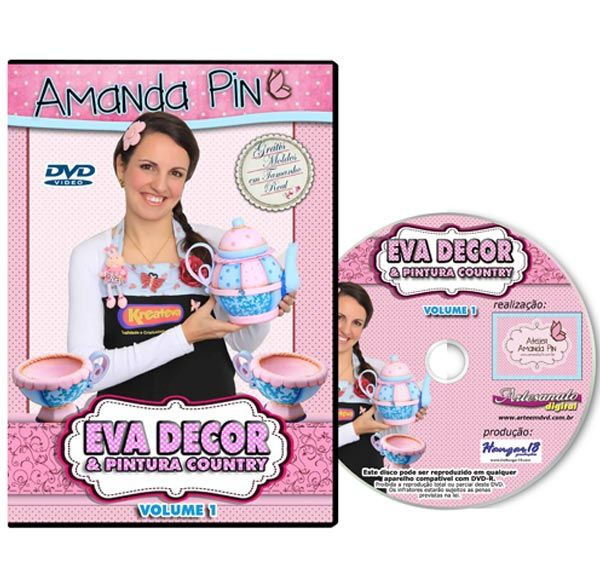 DVD - EVA DECOR com Amanda Pin