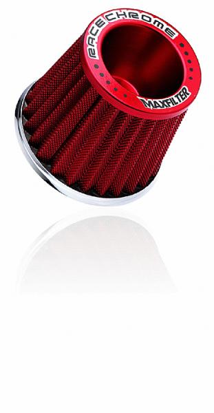 Filtro Ar Esportivo Race Chrome Master Filter Rc029 Vermelho - Cód.RR040