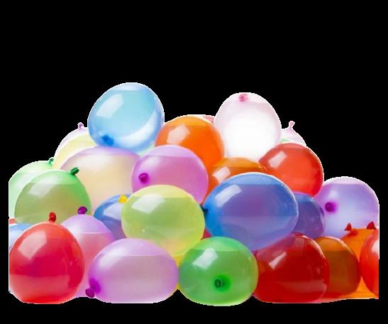 Balão Liso Globitos de Agua Colorido 100un