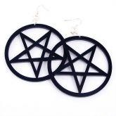Brinco Pentagrama Invertido