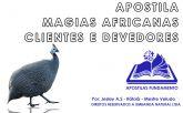 APOSTILA MAGIAS PARA CHAMAR CLIENTES E RECEBER DE DEVEDORES