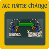 Acc Name Change [275 Tibia Coins]