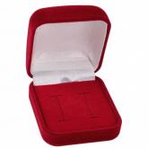Caixinha de veludo para alianças em Uberlândia, modelo ES001