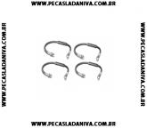 kit de Flexíveis ou Mangotes de Freio Dianteiro Niva c/ 4 Peças (Novo) Ref.0249