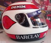 NELSON PIQUET 1987 SCALE 1:1 LIMITED EDITION FORMULA ONE HELMET