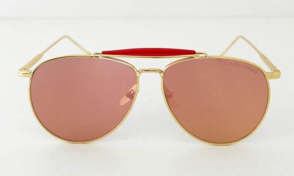 ... Óculos de sol feminino Aviador Rosê Thom Browne Inspired - Daf Store  311b36addb7c4d ... 729cd2ef42
