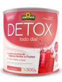 Detox  Solúvel 300g (Suco vermelho)