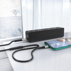 Cabo Auxiliar USB C Para P3 HREBOS