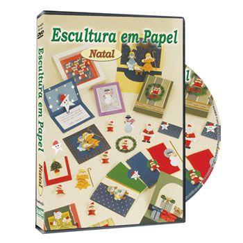 DVD Escultura em Papel - Natal
