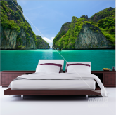 Adesivo de Parede ilhas da Tailândia
