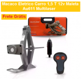 Macaco Eletrico Carro 1,5 T 12v Maleta Au611 Multilaser + FRETE GRÁTIS