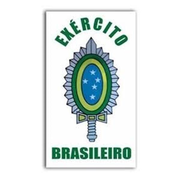 ADESIVO BRASÃO DO EXÉRCITO BRASILEIRO