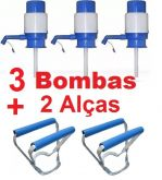 Kit com Bombas + 2 Alças de Galao
