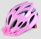 Capacete para bicicleta rosa modelo mtb