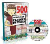 500 MODELOS CARTOES DE VISITA