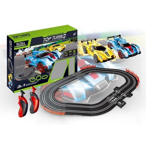 Auto Pista Turbo Run Circuito 3 Formatos - DM Toys