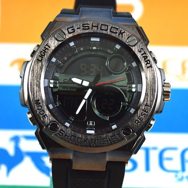 a03fcb1aa3b Relógio Casio G Shock Steel Aço Chumbo Masculino à prova d´água + Caixa  Original