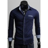 Camisa de Mangas Compridas Primavera Masculino