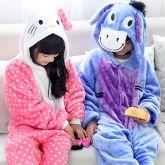 Pijamas Animaizinhos Quentinhos