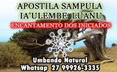 SAMPULA IA'ULEMBE LUANU - Banhos de encantamento para iniciação