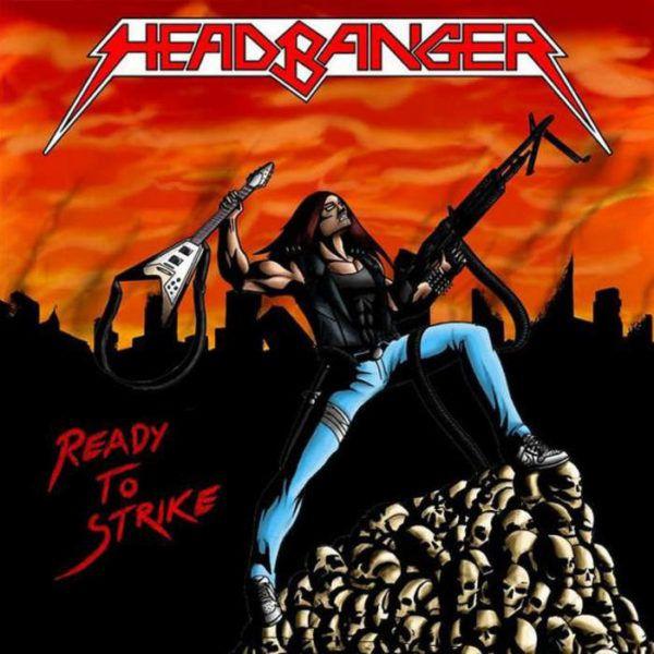CD Headbanger - Ready to Strike