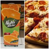 COMBO - 02 PIZZAS + Suco Dell Valle 1L