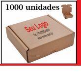 Caixa de Papelão para envio Correio S-02 C:26 x L:17 x A:8,5 cm - Parda 1000 unidades