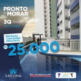 Apartamento no Condominio Savona Residence   Horto Florestal - Teresina