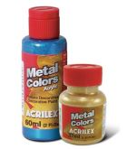 Metal Colors (metálica) 60ml Acrilex