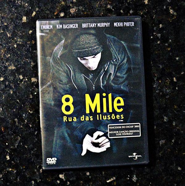 Filme 8 Mile - Rua Das Ilusões (DVD) - USADO