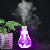 Umidificador De Ar E Luminária Lâmpada Com Luz De Led Usb