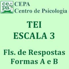 03.03 - TEI - Teste Equicultural de Inteligência - Escala 3 - Bloco c/ 25 fls. de Respostas