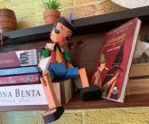 Pinóquio Marionete Articulado de Madeira - 33cm