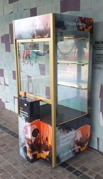 Grua - Máquina de Pegar Pelúcias