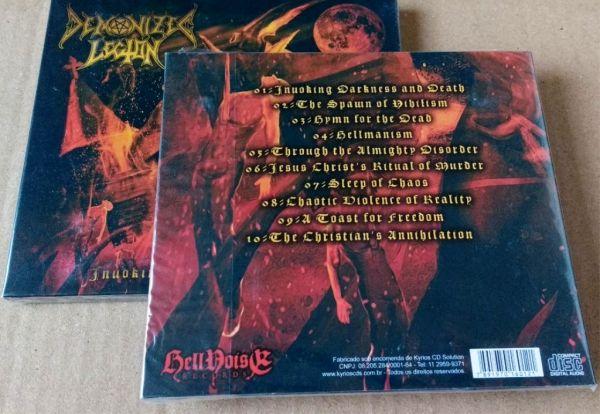 DEMONIZED LEGION -  Invoking Darkness and Death - CD (Digipack)