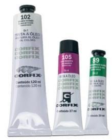 Tinta a óleo 120ml Corfix G3