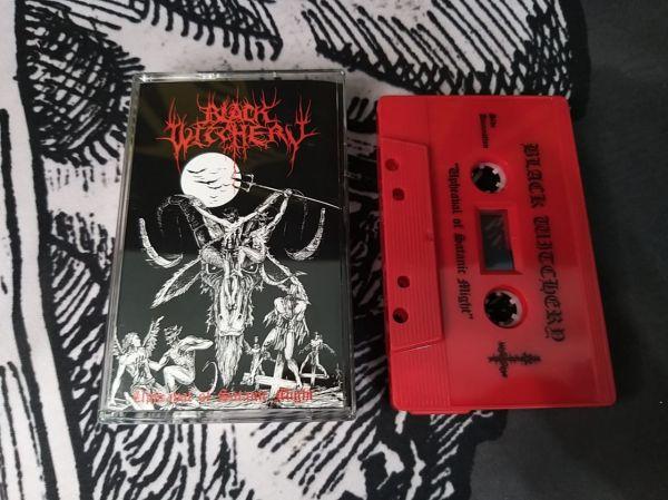 Black Witchery - Upheaval Of Satanic Might (Cassete)