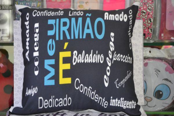 e894b06c80efd1 ALMOFADA MEU IRMÃO - Gift In Box - Presentes Criativos
