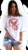 camiseta Jogos Vorazes - Tordo