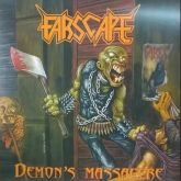 FARSCAPE - Demon's Massacre (LP) vinil azul com obi