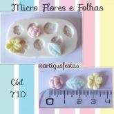 Micro Flores e Folhas