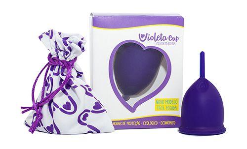 .Novo Violeta Cup - Tamanho A - Violeta