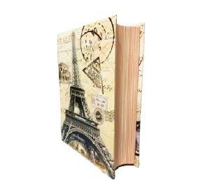 Livro Caixa - Pequenos Livros - Paris 17 cm