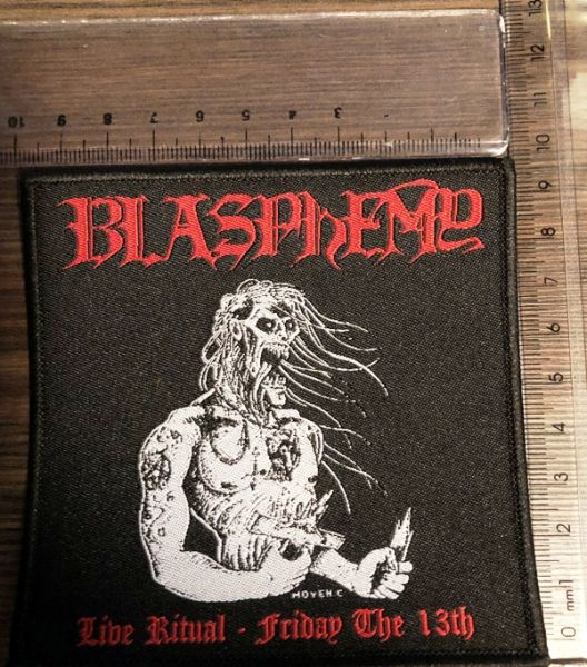 BLASPHEMY - Live Ritual - Friday  The 13th - PATCH
