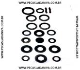 Kit de Retentores Motor, Cambio, Diferenciais, Rodas e Redução Niva (Novo) Ref. 0375